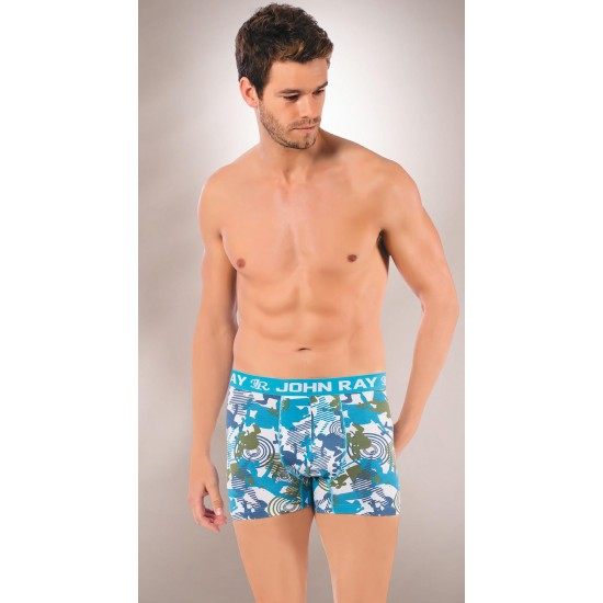 Colorfull Patterned Men'S Boxer